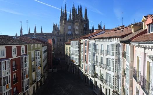 Apartamento en venta en pleno Centro Histórico, en Burgos