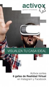 Banner Activox sorteo gafas realidad virtual