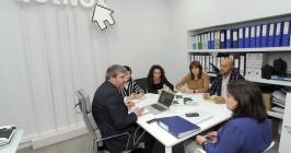 Reunión de trabajo del equipo de Actívox. - ISRAEL L. MURILLO