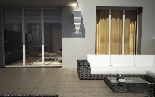 Obra Nueva, Bajo con terraza en venta zona S4, Burgos