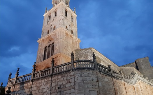 Vivienda en construcción en Santa María del Campo, Burgos